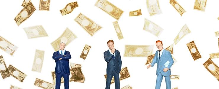 資金繰りに悩む経営者
