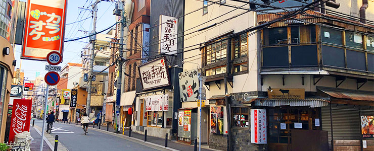 福岡県の飲食店街