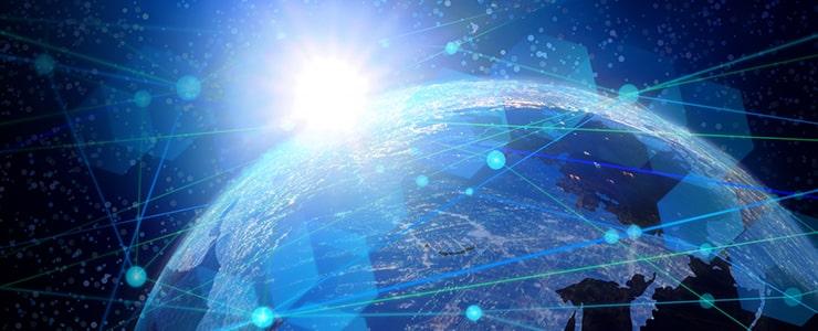 IT業界が世界規模で成長をしているイメージ画像