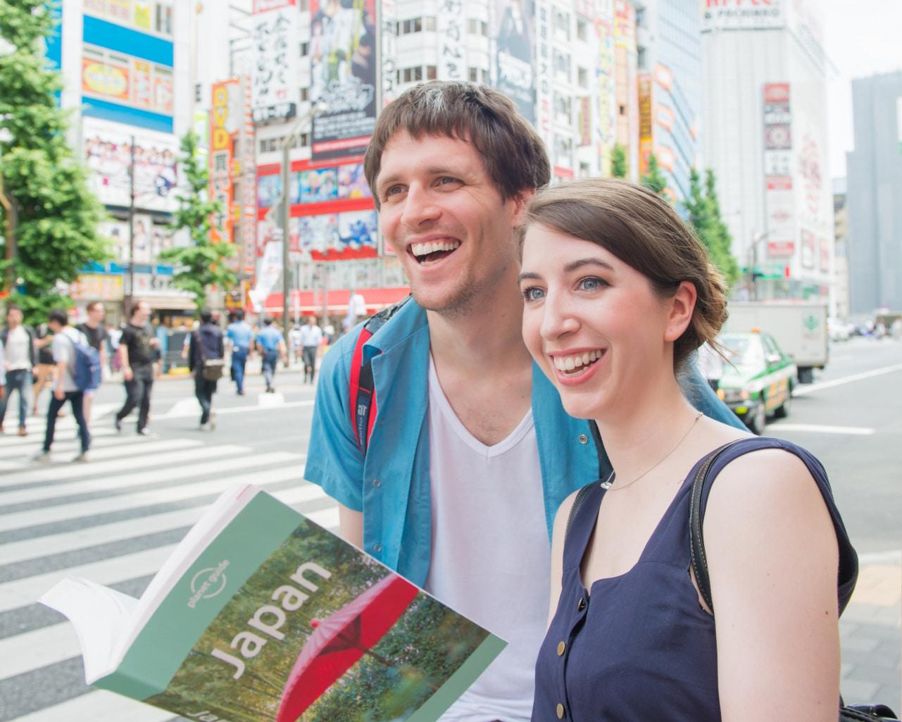 東京オリンピックで日本に訪れた外国人観光客