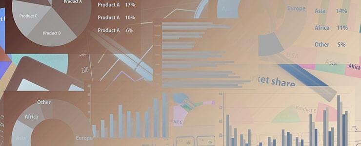 売掛先企業の財務状況データのイメージ